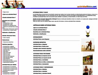 actividadfisica.net screenshot