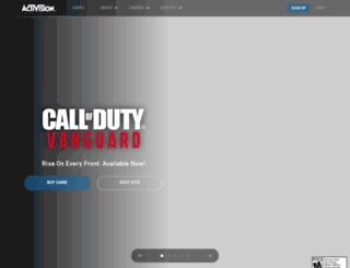 activision.com screenshot