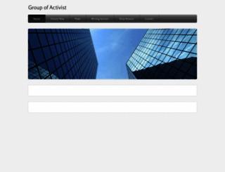 activist-org.weebly.com screenshot