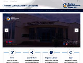 activity.emu.edu.tr screenshot