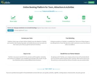 activityadmin.triphobo.com screenshot