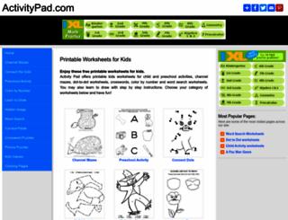activitypad.com screenshot
