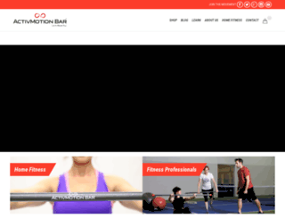 activmotionbar.com screenshot