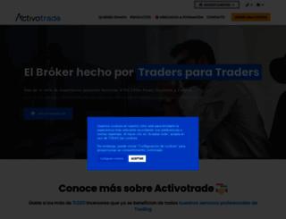 activotrade.com screenshot