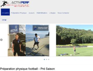 activperf.livehost.fr screenshot