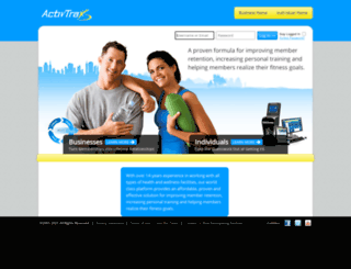 activtrax.com screenshot