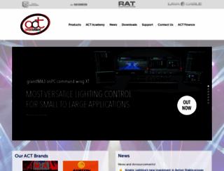 actlighting.com screenshot