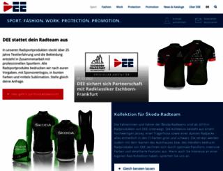 acton-sports.de screenshot