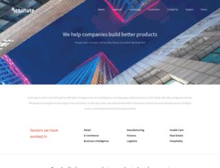 actonate.com screenshot