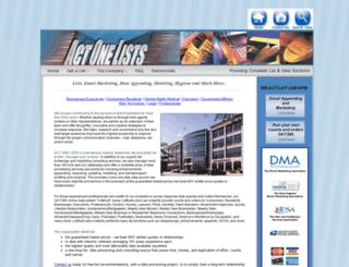 actonelists.com screenshot