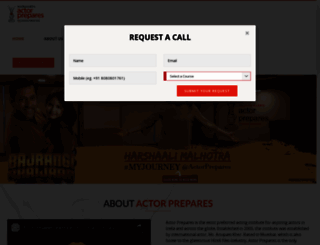 actorprepares.net screenshot