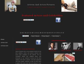 actors-pictures.com screenshot