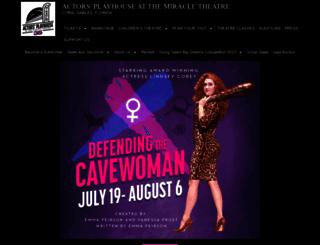 actorsplayhouse.org screenshot