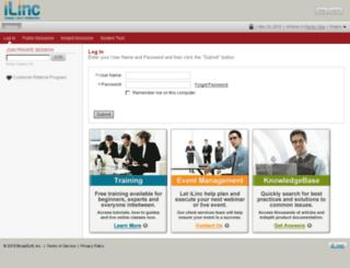 actrade.ilinc.com screenshot