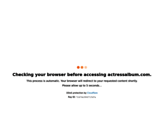 actressalbum.com screenshot