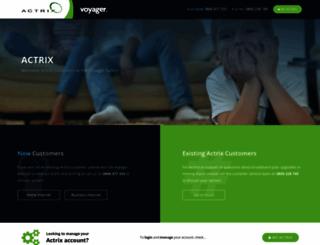 actrix.co.nz screenshot