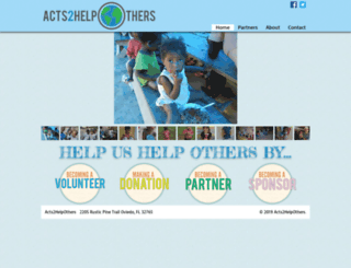 acts2helpothers.org screenshot