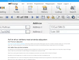actsverige.se screenshot