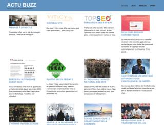 actu-buzz.fr screenshot