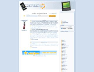 actu-mobile.com screenshot