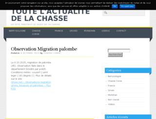 actu.chasse-corse.com screenshot