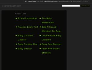 actualcram.examblogger.com screenshot