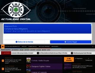 actualidad-digital.com screenshot