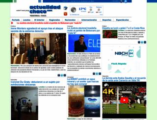 actualidadchaco.com screenshot
