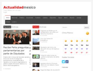 actualidadmexico.com screenshot
