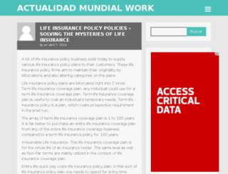 actualidadmundial.work screenshot