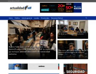 actualidadtdf.com.ar screenshot