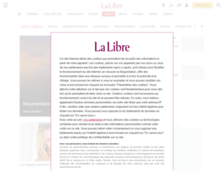 actualite-culturelle.lalibre.be screenshot