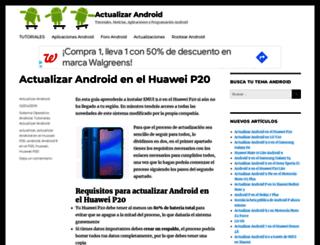 actualizarandroid.com screenshot