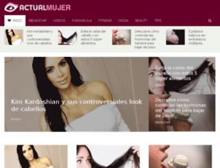 actualmujer.com screenshot