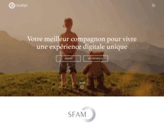 actualys.fr screenshot