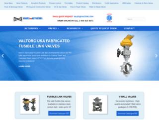 actuatedvalvespecialists.com screenshot