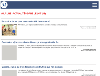 actudulot.fr screenshot