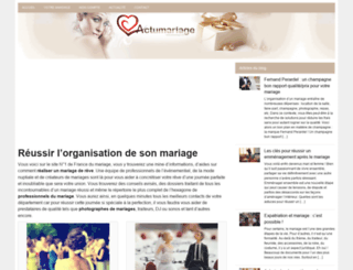 actumariage.com screenshot