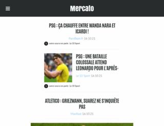actumercato.fr screenshot