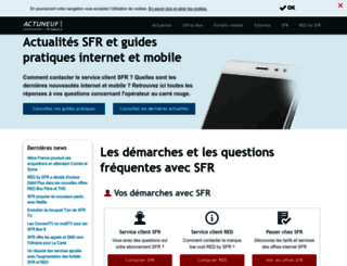 actuneuf.com screenshot