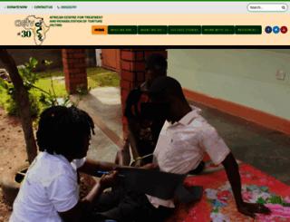actvuganda.org screenshot