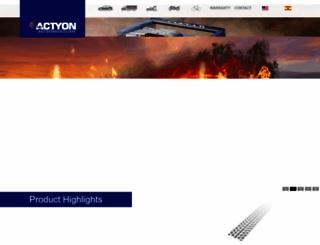 actyontyre.com screenshot