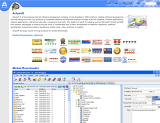actysoft.com screenshot