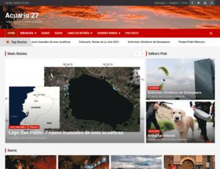 acuario27.com screenshot