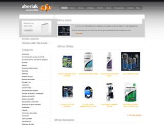 acuarioaberiak.com screenshot