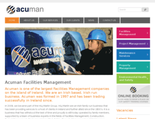acuman.ie screenshot