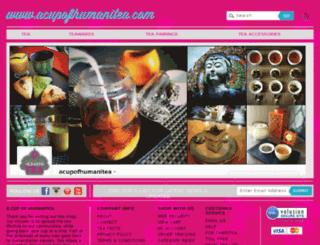 acupofhumanitea.com screenshot