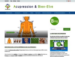 acupression.fr screenshot