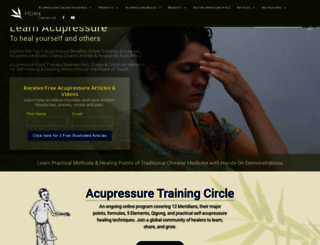 acupressure.com screenshot