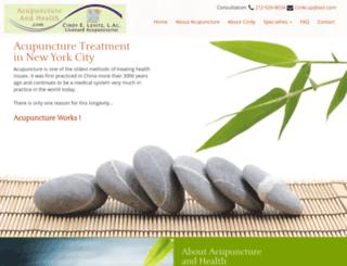 acupunctureandhealth.com screenshot